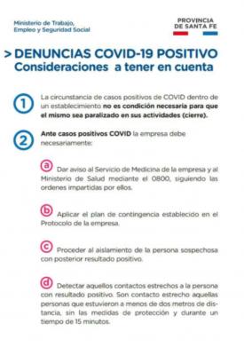 PROTOCOLOS POR DENUNCIAS COVID 19