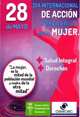 Dia Internacional de Acción por la Salud de la Mujer