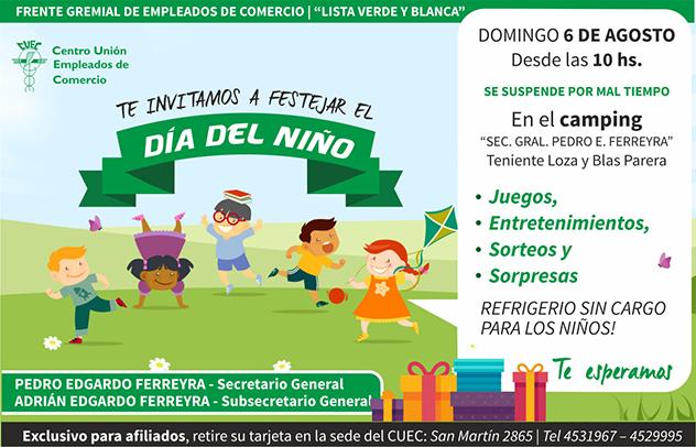 ATENCIÓN CHICOS !!!  SE VIENE EL DÍA DEL NIÑO !!!