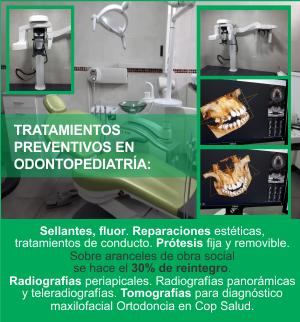 Tratamientos preventivos en odontopediatría