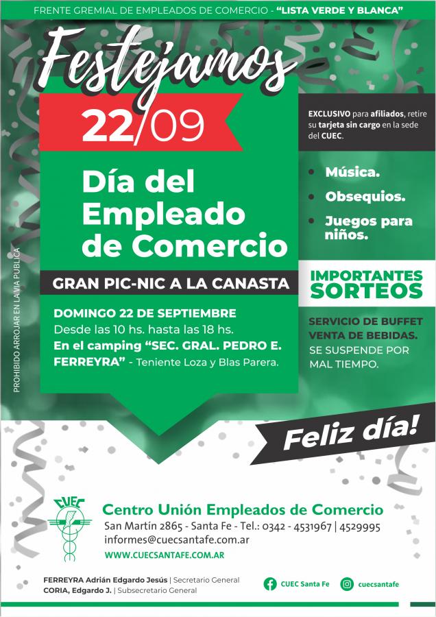 FESTEJAMOS EL DIA DEL EMPLEADO DE COMERCIO !!!